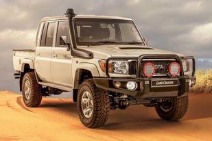 针对南非等地区发售,丰田公布兰德酷路泽LC79 Namib官图