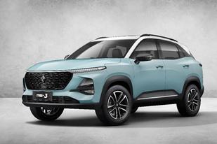 新宝骏公布RS-3新车官图:定位小型SUV,有望于10月上市