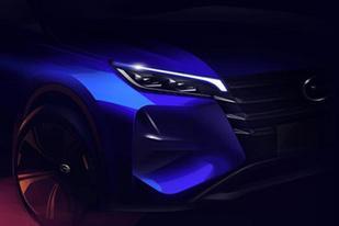 新一代传祺GS4设计草图曝光:外观更酷炫,将于11月上市