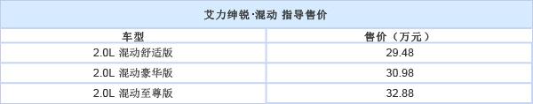 东风本田艾力绅锐·混动正式上市:售29.48-32.88万