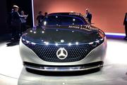 法蘭克福車展之奔馳VISION EQS:電動的S級,老板們認嗎?