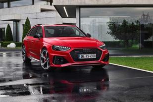 內外均有升級 奧迪發布新款RS 4 Avant官圖