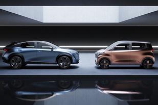 指引未來發展方向,日產兩款純電概念車亮相東京車展