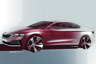 斯柯達公布全新一代明銳設計圖,新車将于11月11日亮相