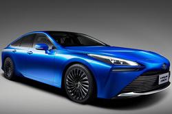 东京车展丰田Mirai Concept:氢燃料电池才是未来?