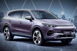 腾势发布腾势X官图:定位中型SUV,将于广州车展上市