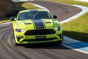 5.0L V8還要加機械增壓?福特Mustang R-Spec正式亮相