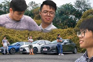 雷凌vs菲斯塔vs馬自達3:懂車的90后該買哪一臺?