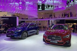 廣州車展:英菲尼迪QX50、Q50L 30周年紀念版車型亮相