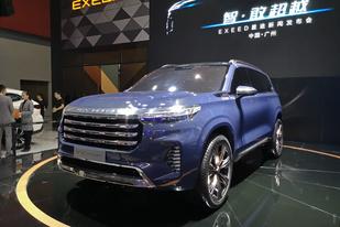 廣州車展:越戰越勇的星途,中大型SUV VX亮相