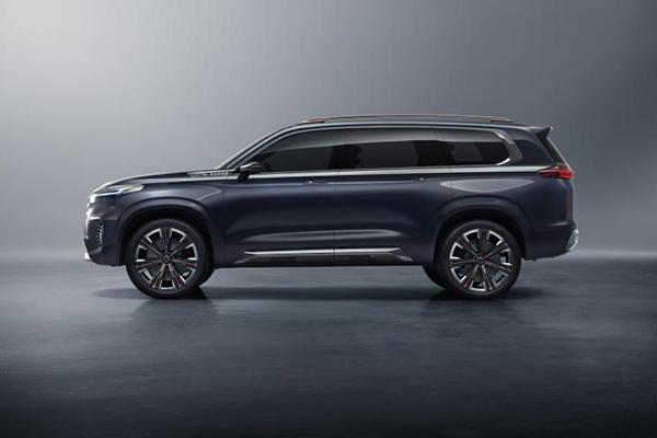 星途中大型SUV VX概念车官图发布,将于广州车展正式亮相