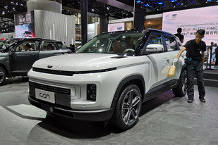 廣州車展:將會開辟一條什么路?吉利icon正式亮相