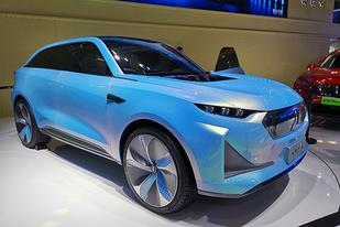 廣州車展:WEY概念車WEY-X亮相,未來的WEY可能長這樣