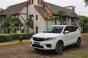 吉利远景X6首试:家用SUV,选成熟产品还是新车型?
