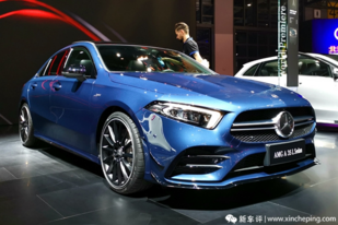 廣州車展:奔馳AMG A35L,40萬的AMG