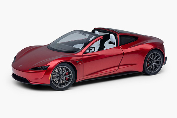 比七座Model S还夸张,特斯拉Roadster将有二排座椅