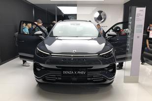 廣州車車展:騰勢X28.98萬起,比亞迪和奔馳找對感覺?
