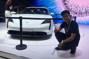 2019廣州車展新車快評:全新保時捷Taycan Turbo S