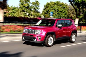 新款Jeep自由俠首試