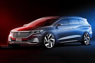上汽大眾Viloran信息公布:車長/軸距全面超越豐田埃爾法
