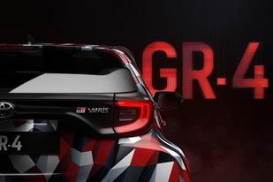 或于WRC季后赛亮相,丰田GR YARiS预告图发布