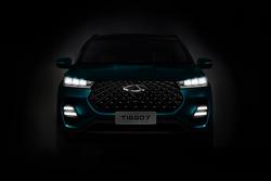 奇瑞全新SUV渲染图曝光:全新设计元素,或为下一代瑞虎7