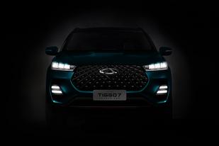 奇瑞全新SUV渲染圖曝光:全新設計元素,或為下一代瑞虎7
