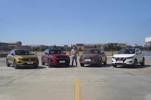 合资紧凑型SUV对对碰(上)谁的颜值与实力并存?