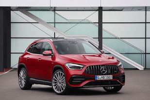 新一代奔馳GLA正式亮相:個頭不大,但SUV、奔馳味給足你