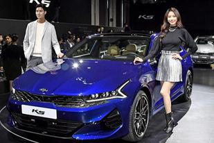 溜背造型高度還原概念車,起亞全新K5實車亮相