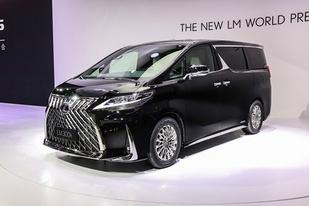 雷克萨斯LM开启预售:共推两款车型,售116.6-146.6万元