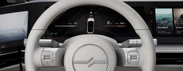 异军突起,索尼于北美CES展亮相纯电概念车VISION-S