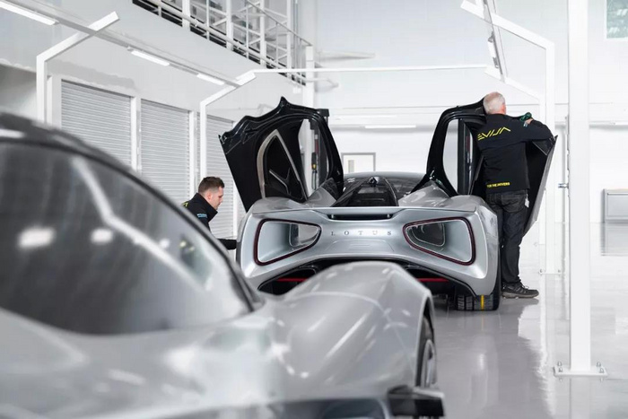 千万级猛兽即将量产 路特斯Evija全新工厂正式落成