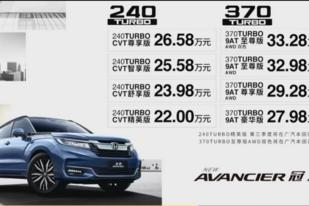 外观和内在都有升级 新款冠道售22.00-33.28万元