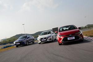舒适代步谁最强?日系三强经济型轿车对比横评