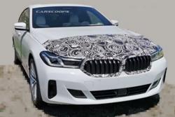 造型更加高端精致,宝马6系GT中期改款车型谍照曝光