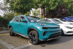 奇瑞新能源新SUV eQ5实车图 续航600公里将6月预售