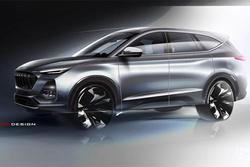推新动作频频/主打6座中大型SUV 江淮嘉悦X8设计图
