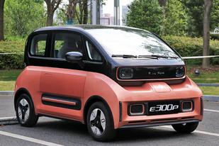 新宝骏纯电车型E300开启预售,补贴后售6.58-8.58万元