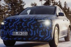 定位紧凑型SUV/年内正式亮相 奔驰EQA