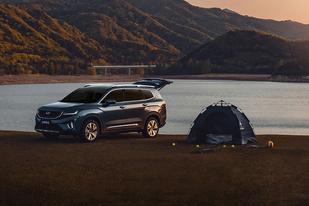 大大大号7座SUV正式上市,吉利豪越售10.36-13.96万元