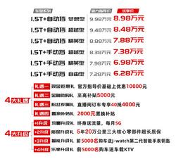 德系基因加持 江淮嘉悦X4上市售6.28-8.98万元