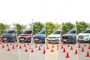 六款合资紧凑型SUV盲区横评:颜值高和盲区小不可兼得?