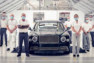 最后一辆新车下线,宾利宣布慕尚车型正式停产