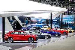 粤港澳车展:奥迪提新目标/下半年加大重磅新车投放力度