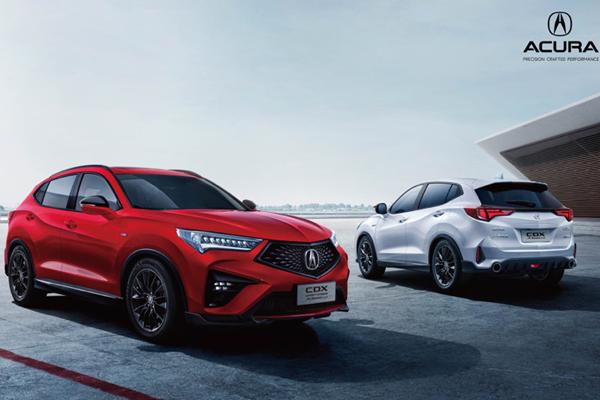 首度增设A-Spec运动款 新款广汽讴歌CDX预售23万元起
