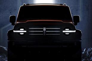 与哈弗H9同平台打造,WEY发布全新硬派SUV车型官图