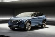 还原概念车设计,日产纯电SUV Ariya即将于7月15日亮相