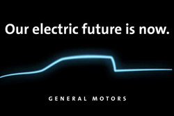 预计将于2021年正式量产,雪佛兰发布纯电皮卡相关信息