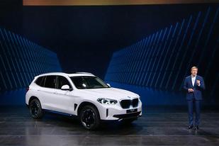 搭载第五代BMW eDrive电驱技术,宝马全新iX3正式亮相